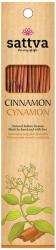 Kadzidełka Naturalne Cynamon Sattva Incense, 30g