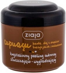 Złuszczająco - wygładzający Peeling Cukrowy, Ziaja Cupuacu, 200 ml