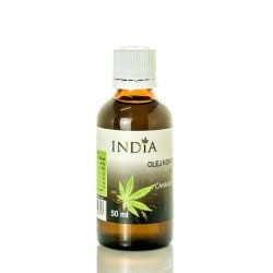 Olej Konopny z CBD 50ml, India Cosmetics