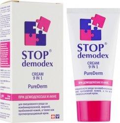 Krem do Twarzy 9 w 1 Purederm Stop Demodex (Demodekoza, Nużyca, Trądzik), 50 ml