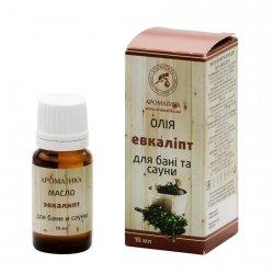 Kompozycja Olejków Naturalnych do Sauny i Łaźni Parowej Eukaliptus, 10 ml Aromatika