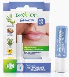 Balsam do Ust Intensywnie Nawilżający z Olejem Rycynowym, 4,6 g