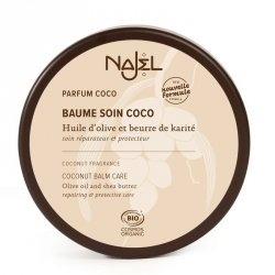 Balsam do Ciała Pielęgnacyjny Kokosowy z Certyfikatem Cosmebio, Najel