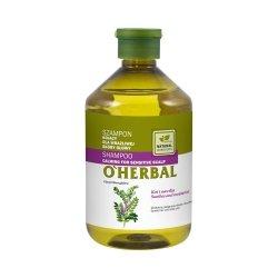Szampon Kojący z Ekstraktem z Lukrecji dla Wrażliwej Skóry Głowy, O'Herbal