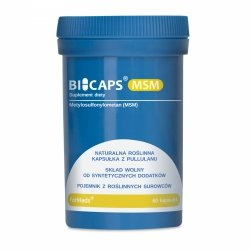 BICAPS MSM (Metylosulfonylometan), 60 kapsułek