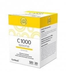 LIPOCAPS C 1000 Liposomalna Witamina C Formeds, 120 kapsułek