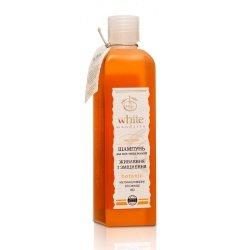 Organiczny Szampon do Włosów Miodowy Odżywczo - Wzmacniający, White Mandarin