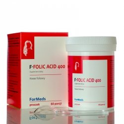 ForMeds F-FOLIC ACID 400, Kwas Foliowy, Suplement Diety