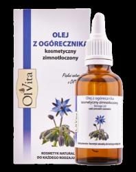 Olej z Ogórecznika, 100% Naturalny, Olvita, 50ml
