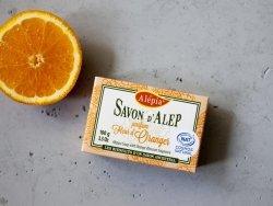 Mydło Aleppo Prestige Pomarańczowe, 100g