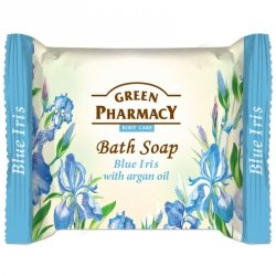 Mydło Toaletowe Niebieski Irys i Olejek Arganowy, Green Pharmacy