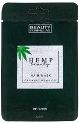 Maska do Włosów z Olejem Konopnym, Beauty Formulas