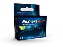 NoSnore Plus Wkładka do Nosa przeciw Chrapaniu rozm M 3