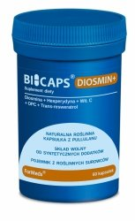 BICAPS DIOSMIN+ Formeds, Diosmina, 60 kapsułek