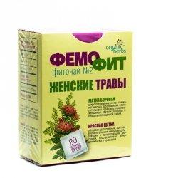 Травяной чай Фемофит № 2, 20 пакетиков