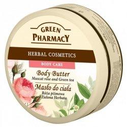 Масло для тела мускусная роза и зеленый чай, Зеленая аптека