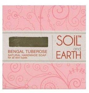 Tuberoza Bengalska Naturalne Mydło, Soil & Earth, 125g