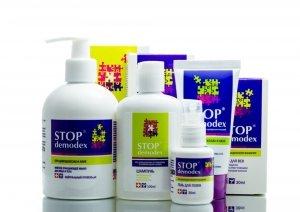 Zestaw do Pielęgnacji Twarzy, Włosów i Ciała Stop Demodex, Nużyca, Demodekoza