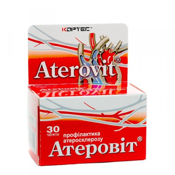 Aterovit, 30 tabs., Red Clover