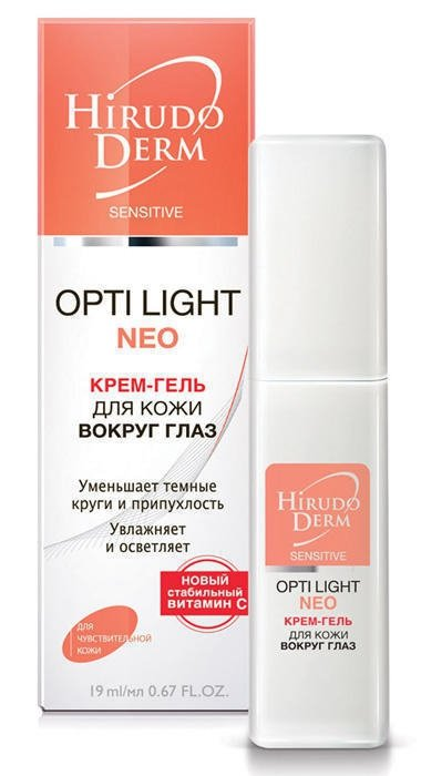 HIRUDODERM OPTI-LIGHT EYE CREAM-GEL