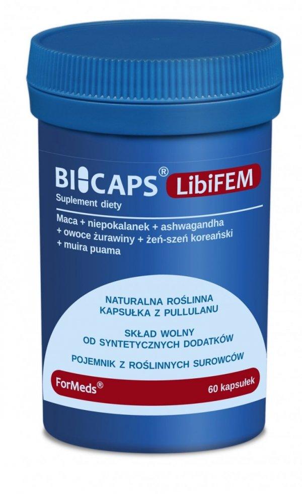 BICAPS LibiFEM, Suplement Diety dla Kobiet, Formeds, 60 kapsułek