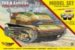 Mirage 835093 1/35 [MODEL SET]  TANKETTE TKS-B (w/ automatic cannon 20mm Mk.38)