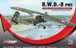 Mirage 485002 1/48 R.W.D.-8 (PWS) Samolot Szkolno-Łącznikowy