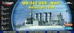Mirage 40604 1/400 DD-343 USS 'NOA' Czerwiec 1937  [Amerykański Niszczyciel II WŚ]