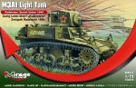 Mirage 726074 1/72 M3A1 Light Tank 'KUIBISHEV' Soviet Union 1942