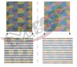 Mirage D0003 1/48 LOZENGE DAY, FIVE COLOR, DARK & LIGHT PATTERN (WW1) [for 1 model kit]