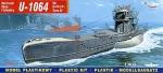 Mirage 40415 1/400 U-1064 typ U-VIIC/41 Turm IV niemiecki okręt podwodny