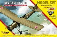 Mirage 872061 1/72 [MODEL SET] RWD [LWS] 14b 'CZAPLA' [Polski Samolot Towarzyszący]