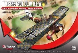 Mirage 481402 1/48 Halberstadt CL.IV H.F.W. [Wczesne serie produkcyjne / Krótki kadłub]