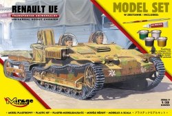 Mirage 835095 1/35 [MODEL SET] RENAULT UE [Transporter Uniwersalny]