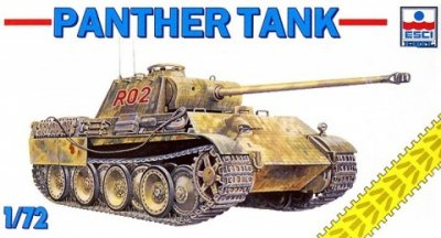 ESCI 8363 1/72 German PzKpfw V Panther (Sd.Kfz. 171)