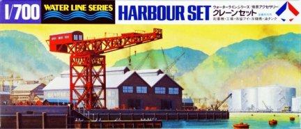 Hasegawa WLS510 1/700 Harbour Set (Crane Set)