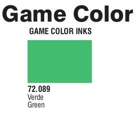 Game Color (72089) Game Ink | Inky Green 17 ml.