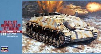 Hasegawa MT51 1/72 Sd.Kfz.162 Jagdpanzer IV L/48 'Late Version' (German Army Tank Destroyer)