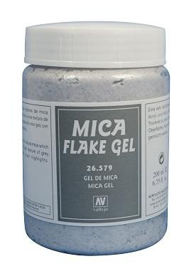 Vallejo 26579 | 200 ml | MICA FLAKE GEL (Odłamki miki)