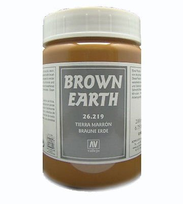 Vallejo 26219 | 200 ml | Brown Earth