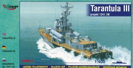 Mirage 40230 1/400 Tarantul III 1241.1M Mała korweta rakietowa