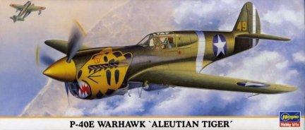 Hasegawa 00372 1/72 P-40E WARHAWK 'Aleutian Tiger'