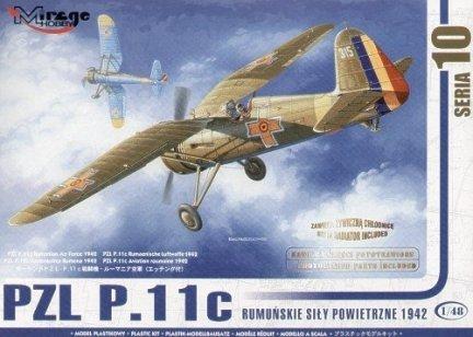 Mirage 48103 1/48 PZL P.11c Rumuńskie Siły Powietrzne 1942