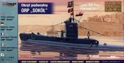 Mirage 404208 1/400 ORP 'SOKÓŁ' Polski Okręt Podwodny