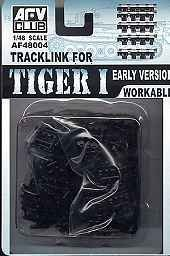 AFV Club AF48004 1/48 Tracks for Pz.Kpfw.VI Tiger I Early