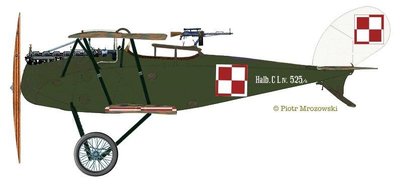 MIRAGE 481403 1:48 HALBERSTADT CL.IV Wojna Polsko-Sowiecka / Siły okupacyjne RAF 1919
