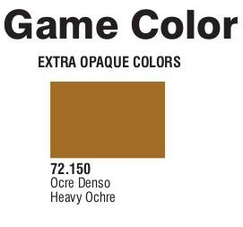 Game Color (72150) Extra Opaque | Heavy Ochre 17 ml.