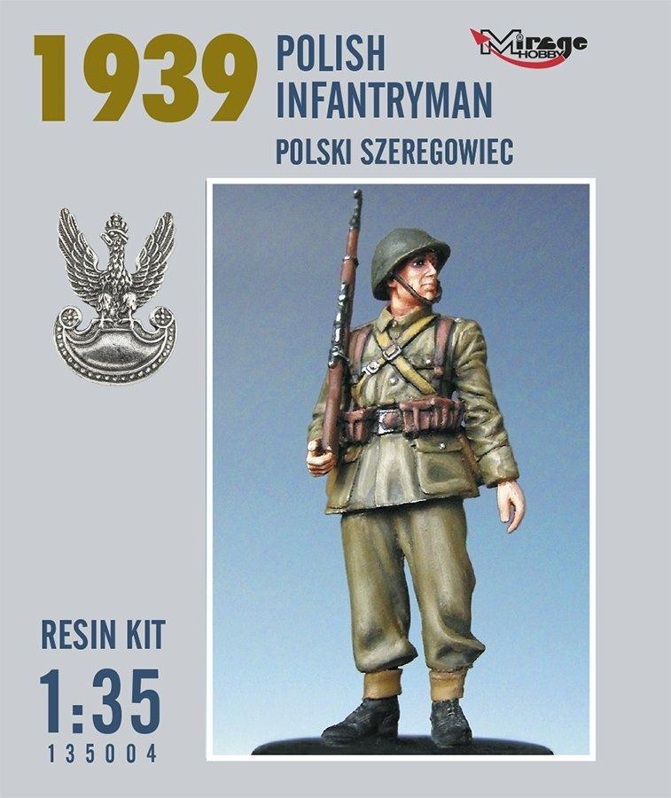 Mirage 135004 1:35 Polski Szeregowiec (Rok 1939) [Resin Kit]