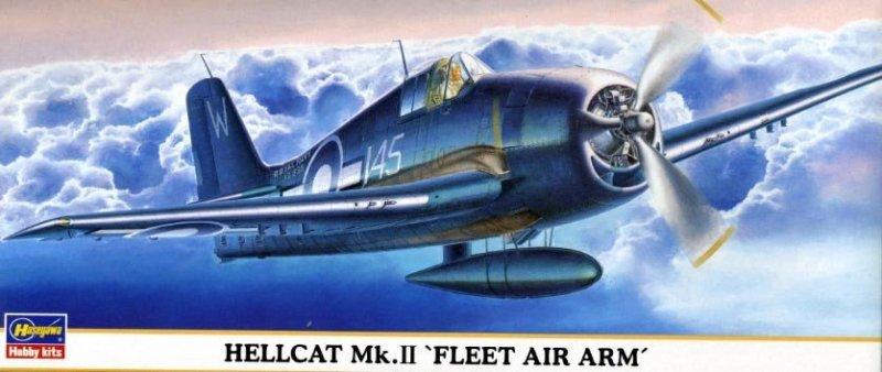 Hasegawa 00634 1/72 Hellcat Mk.II 'FLEET AIR ARM'