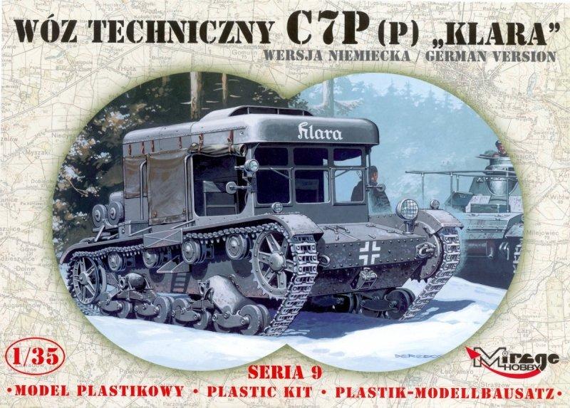 Mirage 359002 1/35 Wóz techniczny C7P (p) 'Klara' wersja niemiecka